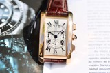 Cartier Tank Americaine XL Automatic Chronograph 18k Rose Gold 2893 W2609356
