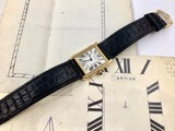 Cartier Tank Solo Small 18k Gold W5200002