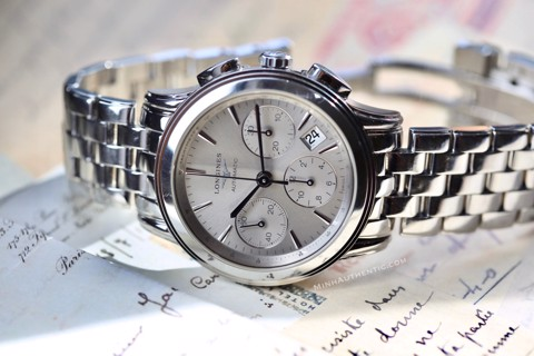 Longines Flagship Chronograph Automatic L4.803.4.72.6