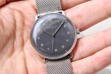 Junghans Max Bill Automatic Anthracite Grey 027/3401.00
