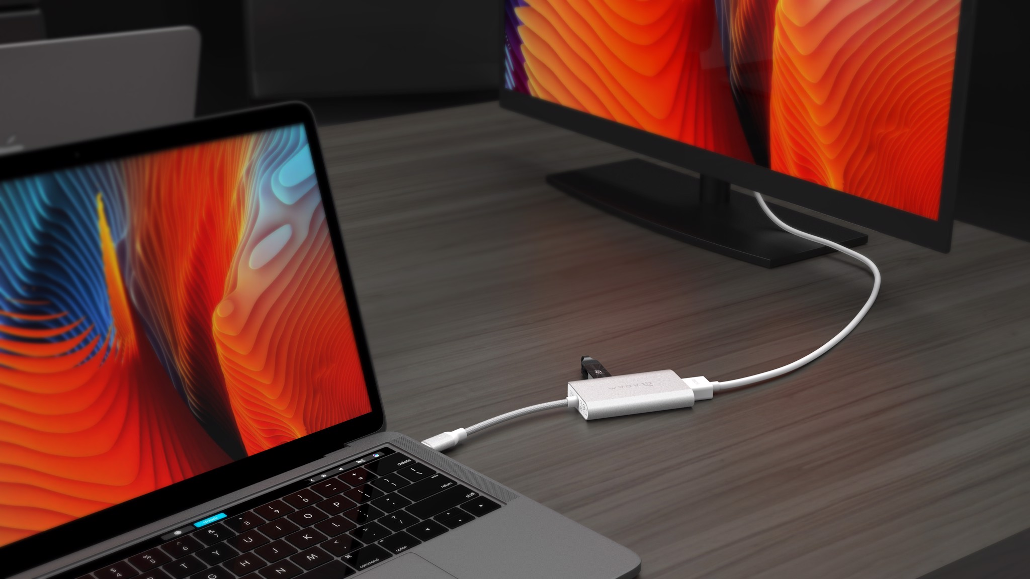 ADAM ELEMENTS CASA USB-C 4IN1 PD 60W