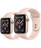 Apple Watch SE GPS, Gold Aluminium Case with Pink Sand Sport Band