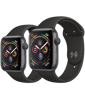 Apple Watch SE GPS, Space Gray Aluminium Case with Black Sport Band