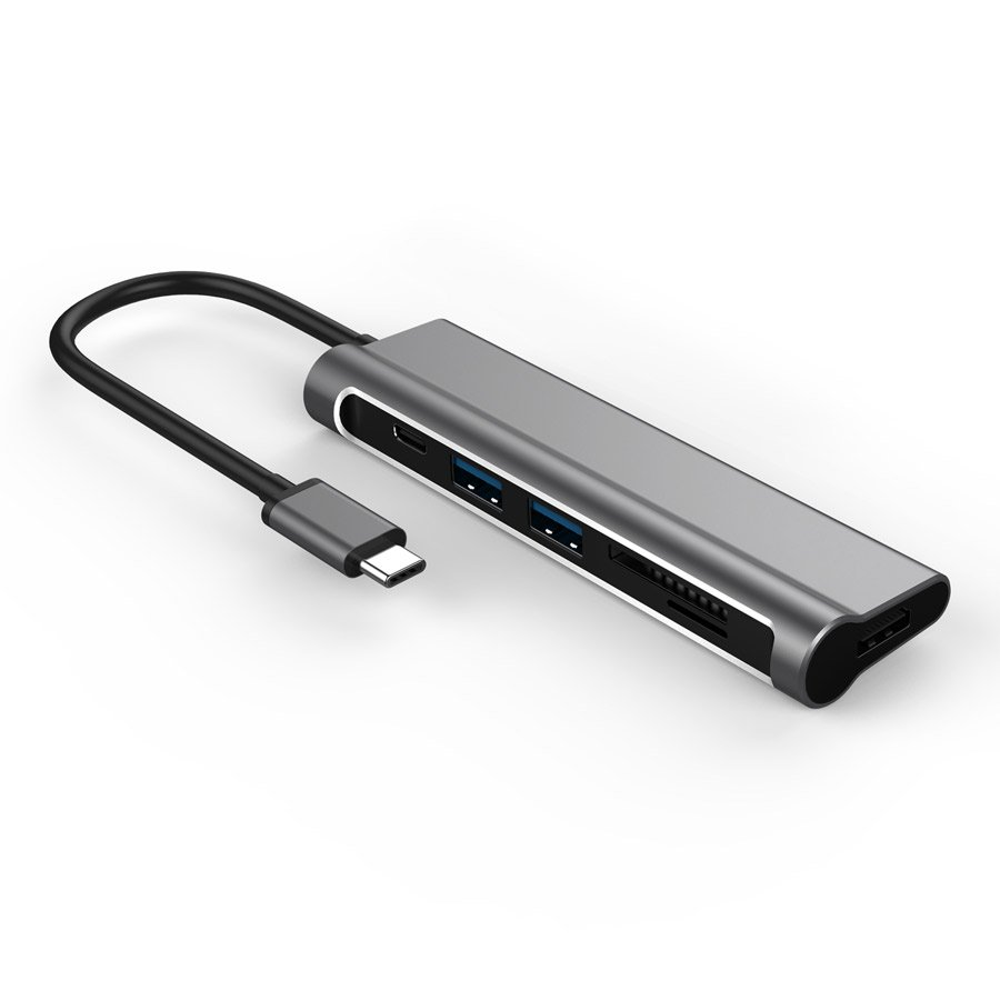 JCPAL USB-C MULTIPORT 6IN1