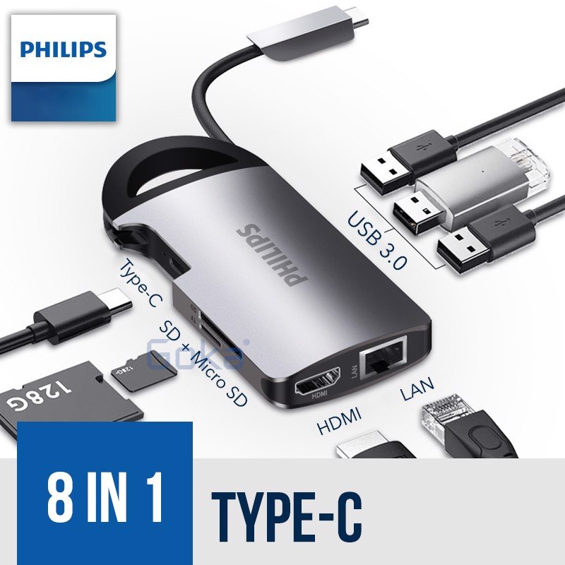 Philips Docking Type-C 8 in 1