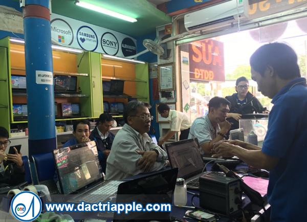 Thay pin iPhone 7 Plus quận Bình Thạnh
