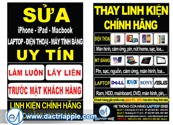 Thay pin iPad 4 quận 2