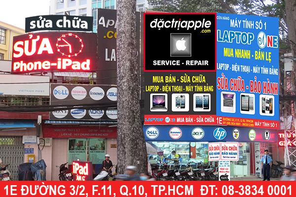 Địa chỉ sửa iPhone 7 uy tín đáng tin cậy