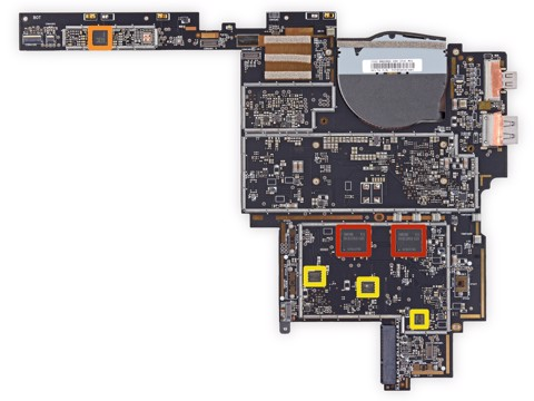 Mainboard Microsoft Surface 1 64Gb