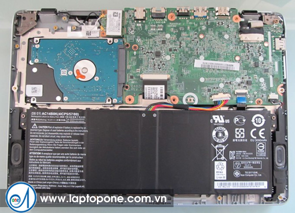 Thay ổ cứng laptop Acer D255 3294 5052 quận 6