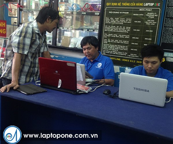 Thay ổ cứng laptop Acer 6231 4520 quận 11