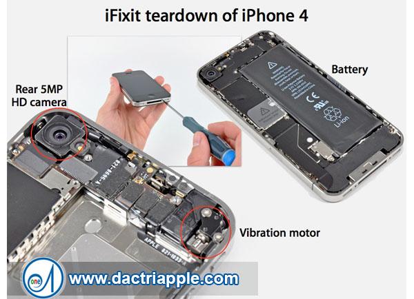 Thay pin iPhone 4 quận tân phú