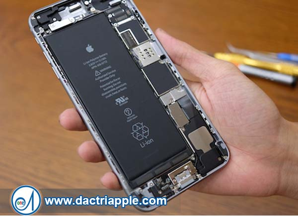 Thay pin iPhone 6 Plus quận 12