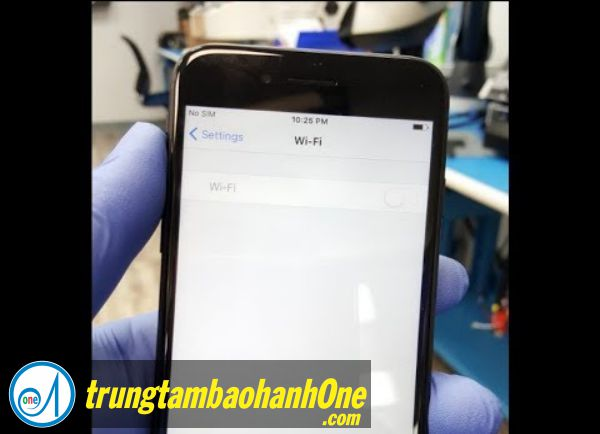 Sửa iPhone 7 no wifi