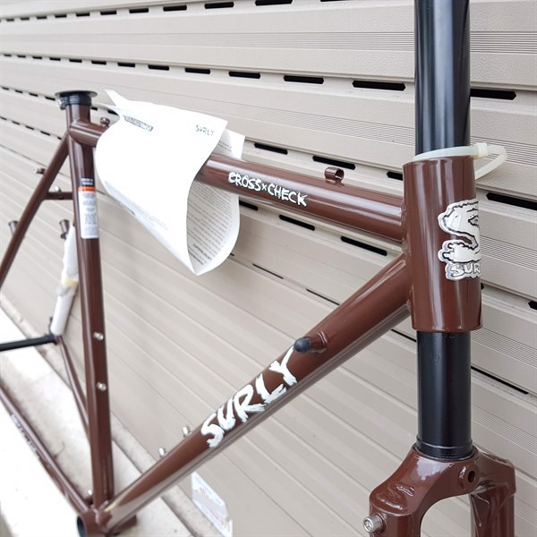 Khung Surly Cross check/ size 46/ Brown