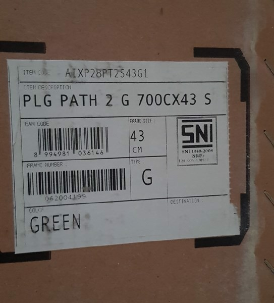 POLYGON SPORT PATH 2 G/Green/Size 43