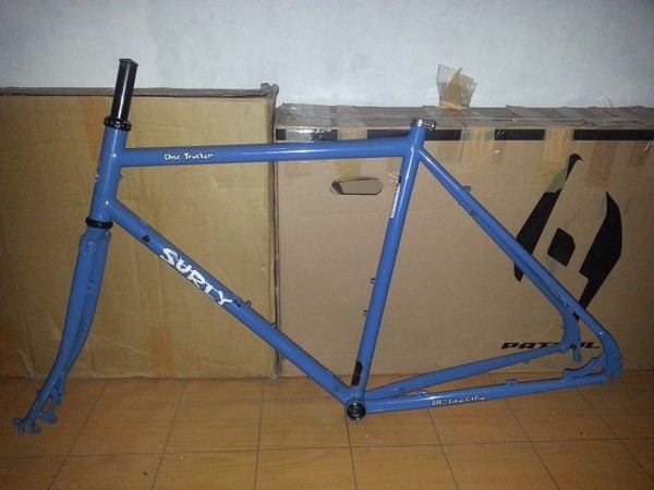 Khung Surly Disc Trucker size 42/ Blu