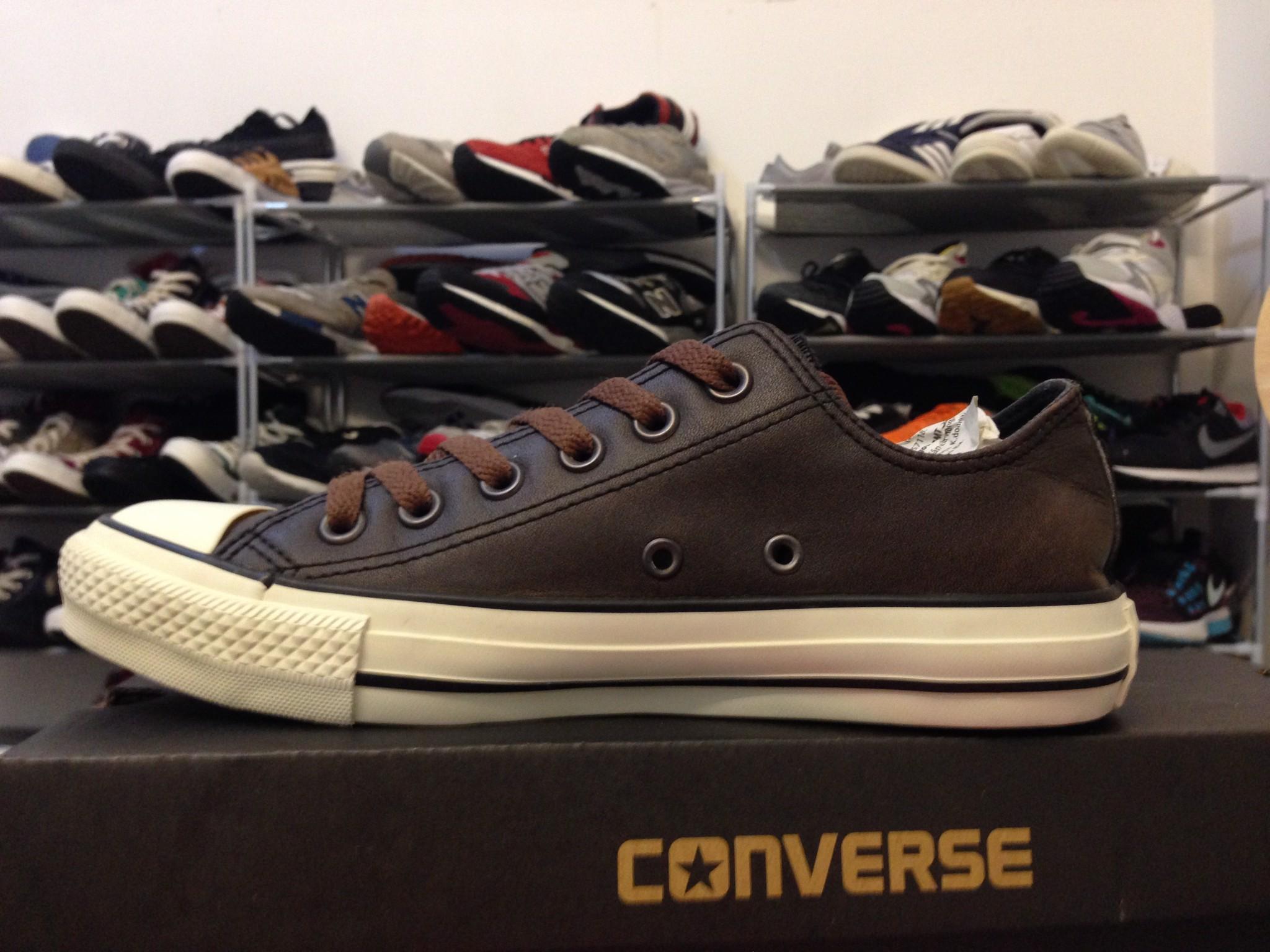 465457bf6996 Giày Converse 2hand real màu vàng cam cổ cao 37.5 24cm – Quẹo Lụm