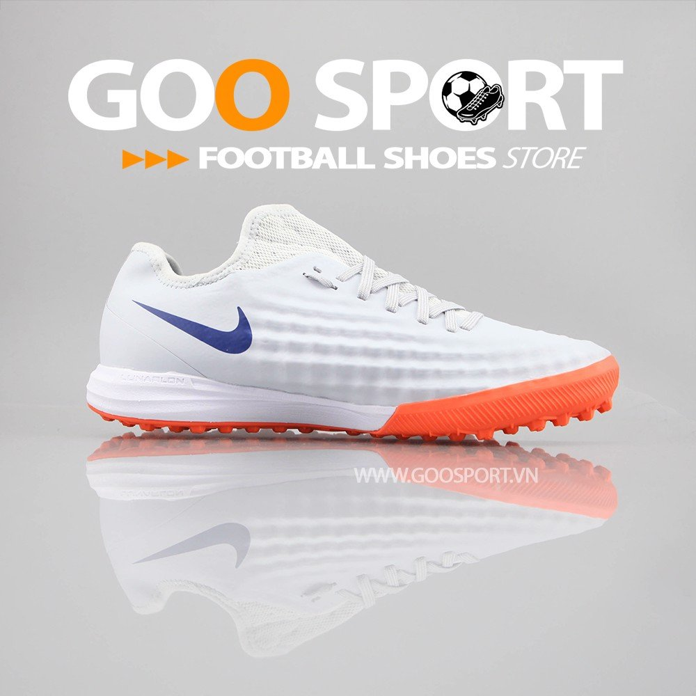 Nike Magista 2 TF trắng cam