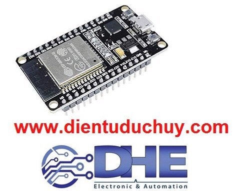 ESP32 thu phát RF 2.4GHz + WIFI + Bluetooth