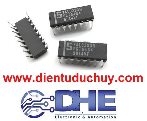 74LS283 (IC cộng binary 4bit)