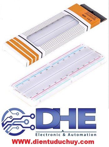 Breadboard MB-102, 830 lỗ - 165*55*10mm