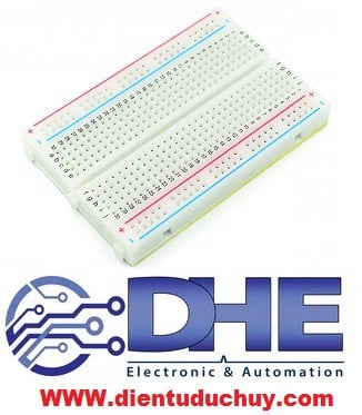 Breadboard MB-102, 400 lỗ, 85*55mm