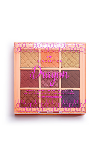 FANTASY MAKEUP PIGMENT PALETTE DRAGON