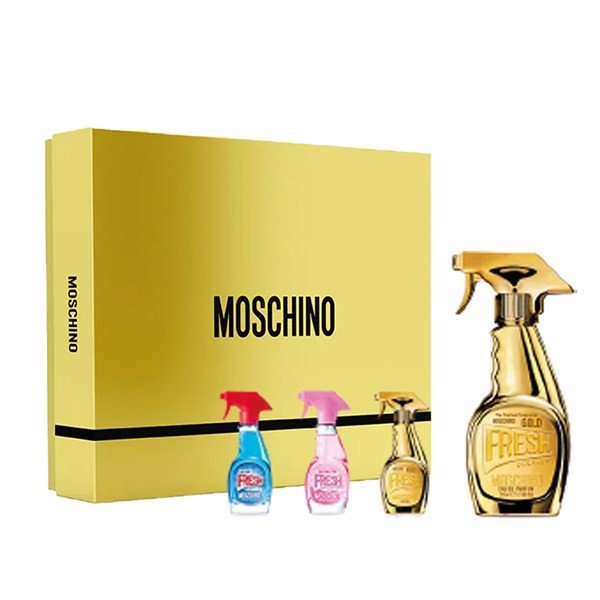 Gift Set Moschino Gold Fresh Couture 4pcs