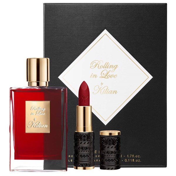 Gift Set Kilian- The Icons Set Rolling In love 2pcs ( EDP 50ml & Lipstick 3,5g )