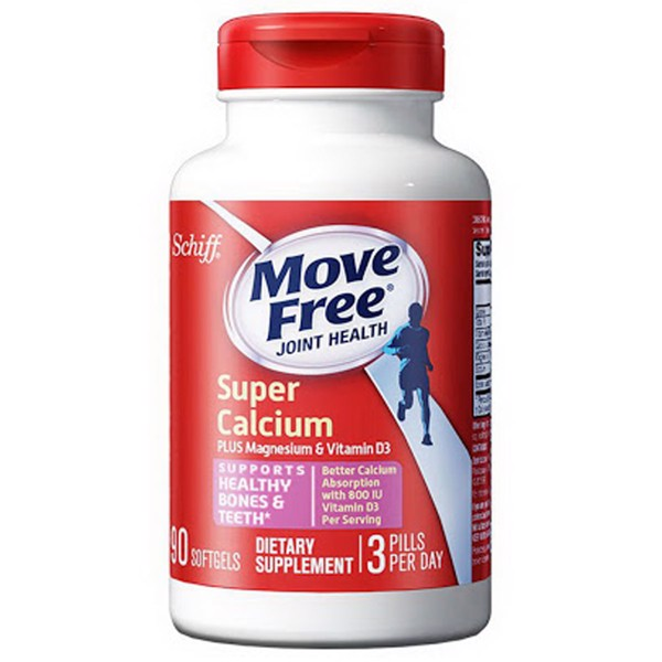 Schiff Move Free Joint Health Glucosamine + Chondroitin 200 Coated Tabs