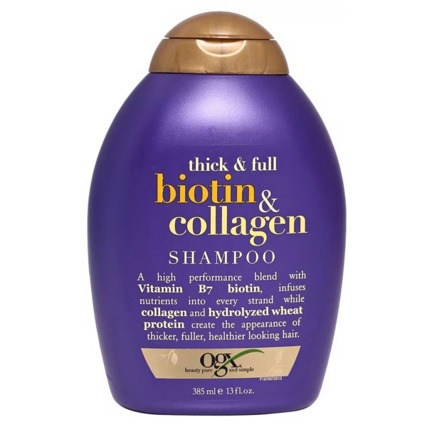 Dầu Gội OXG Thick & Full, Biotin & Collagen