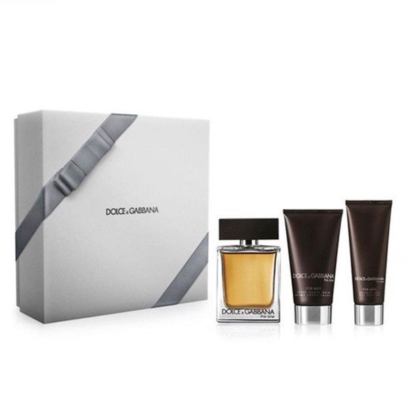 Gift set Dolce & Gabbana The One EDT For Men 3pcs EDT 100ml + AS 75ml  + SG 75
