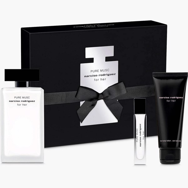 Gift Set Narciso Rodriguez Pure Musc For Her 3 pcs ( EDP 100ml & EDP 10ml & Lotion Dưỡng da 75ml )