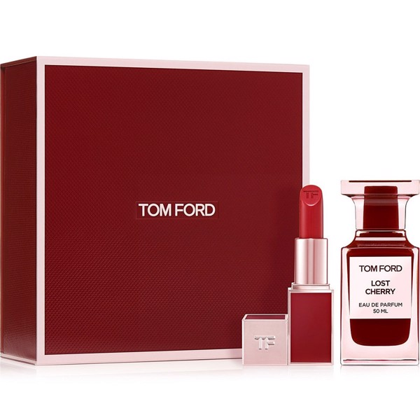 Gift Set Tom Ford Lost Cherry 2pcs ( EDP 50ml & Son môi 3g )
