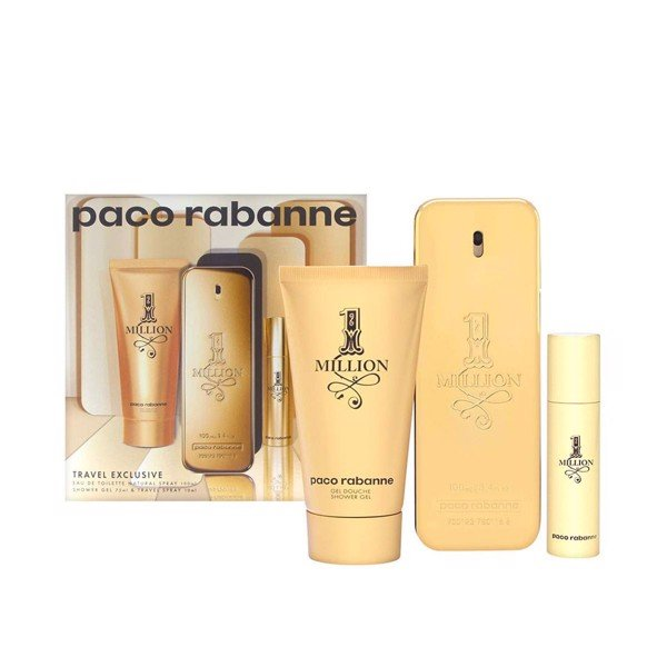 Gift set 1 Million EDT 100ml + Shower Gel 75ml + EDT 10ml