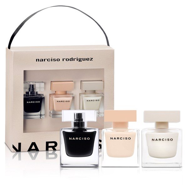 Gift Set Narciso 3pcs (Narciso EDT 30ml + Narciso Poudree 30ml + Narciso EDP 30ml)