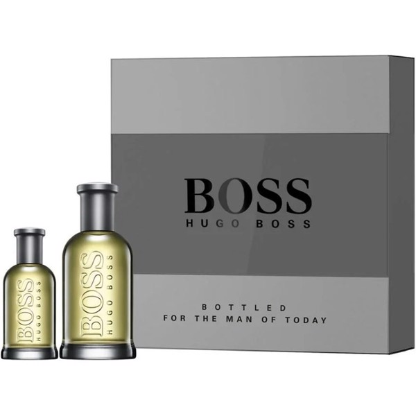 Gift Set Hugo Boss Bottled 2pcs ( EDT 100ml & EDT 30ml )