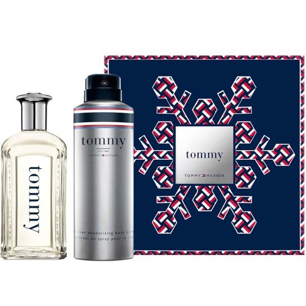 Gift Set Tommy Hilfiger Tommy 2pcs ( EDT 100ml & Deodorizing Body 200ml )