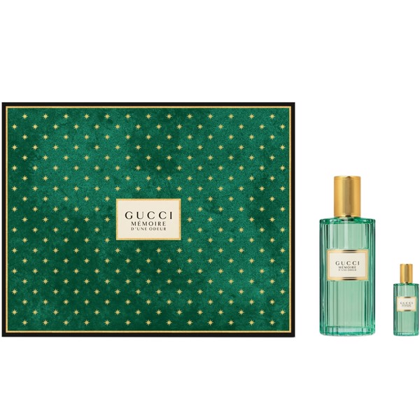 Gift Set Gucci Mémoire D'une Odeur For Women And Men 2pcs ( EDP 60ml & EDP 5ml )