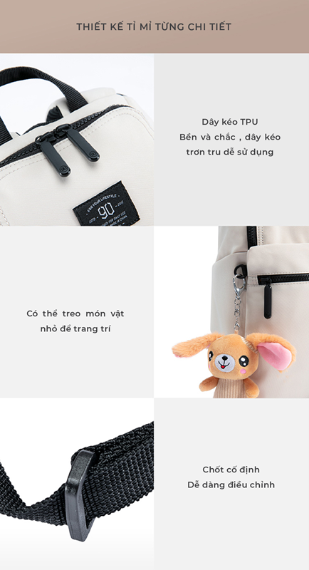 Balo Xiaomi 90 Points Family Backpack
