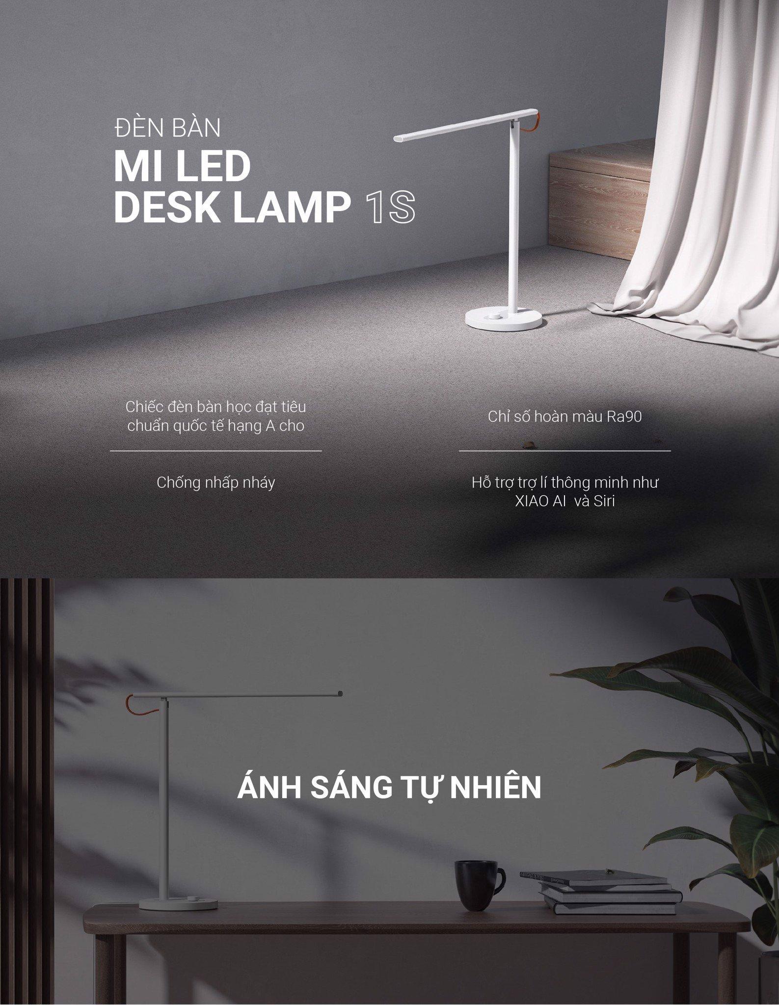 Đèn bàn Mi LED Desk Lamp 1S