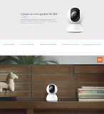 Camera chống trộm Xiaomi 360° 1080P / Mi Home Security Camera 360° 1080P