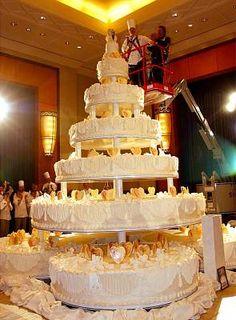 Những chiếc bánh sinh nhật to nhất thế giới
