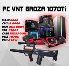 PC GAMING VNT GROZA 1070Ti