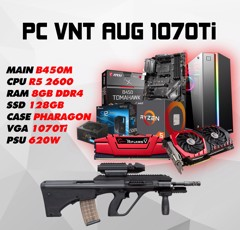 PC GAMING VNT AUG 1070Ti