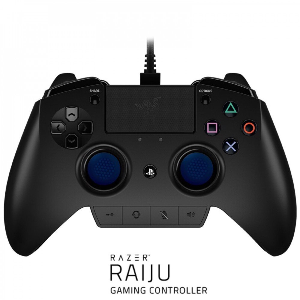 Tay cầm Razer Raiju - Gaming Controller for PS4®