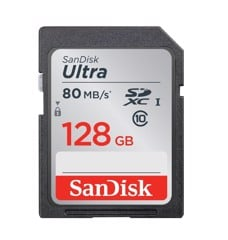 Sandisk SD 128Gb 80Mb/s