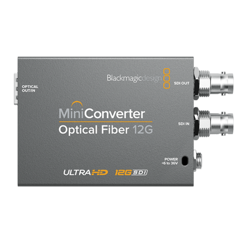 BlackMagic Mini Converter - Optical Fiber 12G