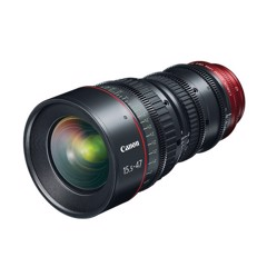 Canon CN-E15.5-47mm T2.8 L SP Wide-Angle Cinema Zoom Lens